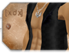 [XDX] Black Cut Hoodie