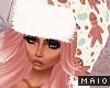🅜 GINGER: santa hat