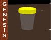 Clean urine sample cup