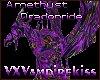 VXV Amethyst Dragonride