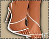 Basic White Heels High