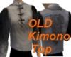 Old Kimono Top