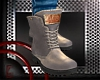 *E* Gray Boots