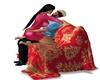 Chair Kisses Christmas