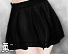 Y' Cute Black Skirt