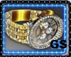 """GS"" ELEGANT WATCH GOLD"