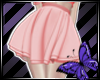 Skirt Red Pastel
