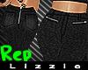 *L* Zipper Pants REP