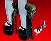 Stylish Skull Heel