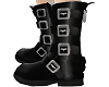 buckled bat boots