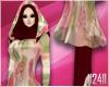 24: Maroon Floral Hijab