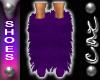 |CAZ| Fuzzy Boots Purple