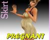 Beige Pregnant Minidress
