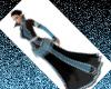 Gothic Slvr N Blu Shades