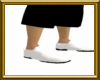 white rubber dr shoes