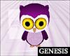 WO Stuffed Baby Owl
