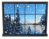 Snow Window (Moving )
