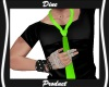 Toxic Green Tie