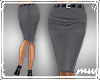 !Pencil Skirt Gray