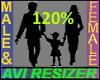 120% Tall