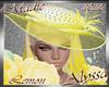!a Alyssa Lemon Hat