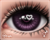 ! Plum Sparkly Eyes F/M