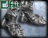 E~ Silver Knight Boots