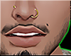"C"" Nose Ring +1 GOLD"