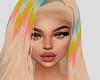 Carmen King Rainbow Wig