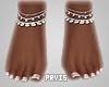 Lilly Diamond Feet