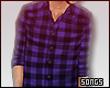 ♫ Purple Plaid Flannel