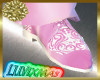 LUVI PINK & WHITE SHOES