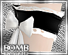 B! Maid Armlets PVC Bow