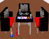 Nascar Table and Chairs