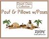 RHBE.Desert Pouf Pillow