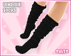 *MT* Warmie Socks Black