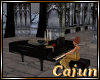 Black Piano W Poses