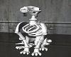 Skeleton dog skelly pet