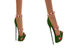 elf yourself heels green