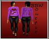 BBW Purple Hearts Desire