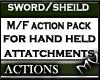 (MV) Sword/Sheild Action