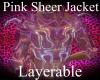 Pink Sheer Jacket