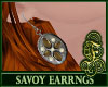 Savoy Earrings Brown