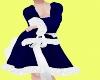 ~HD~Navy Bed Robe-m-