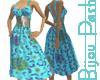 Paquita Dress Turquoise