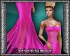 Evas Gown - Hot Pink