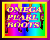 Omega Pearl boots