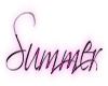 Summer with  Hot Pink