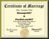 (FDL) marriage Cert
