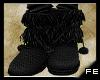 FE emo-black ugg boots